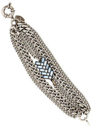 Giles & Brother Multistrand Chain Link Bracelet $95 thestylecure.com