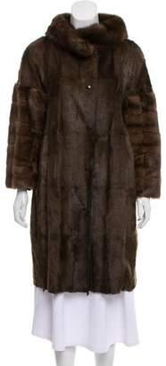 Lanvin Knee-length Fur Coat