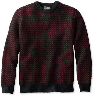 L.L. Bean L.L.Bean Men's Heritage Sweater, Norwegian Crewneck