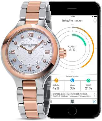 Frederique Constant Two Tone Horological Smartwatch, 34mm