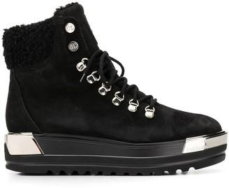 Baldinini lace-up flatform boots