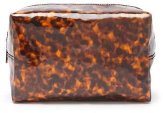 Forever 21 Vinyl Leopard Makeup Bag