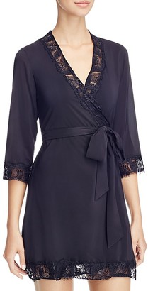 L'Agent by Agent Provocateur Jada Short Robe $198 thestylecure.com