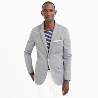 Unstructured Ludlow blazer in stretch cotton $168 thestylecure.com