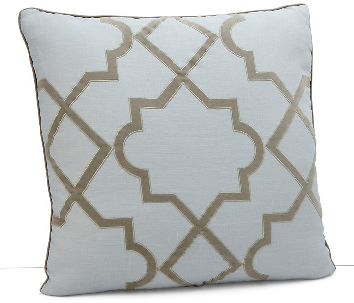 """Dransfield and Ross House Alhambra Cut Out Square Pillow, 22"""" x 22"""""""