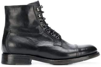 Silvano Sassetti leather lace-up boots