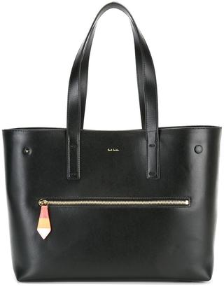 Paul Smith double strap large tote $995 thestylecure.com