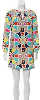 Mara Hoffman Geometrical Print Shift Dress