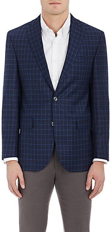 Barneys New York Barneys New York BARNEYS NEW YORK MEN'S CONWAY WOOL TWO-BUTTON SPORTCOAT