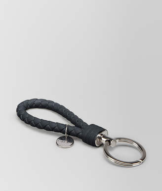 Bottega Veneta TOURMALINE INTRECCIATO NAPPA KEY RING
