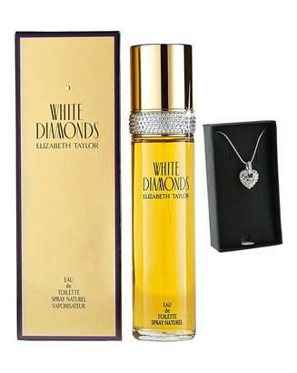 Elizabeth Taylor E T White Diamonds 50m with FREE Gift