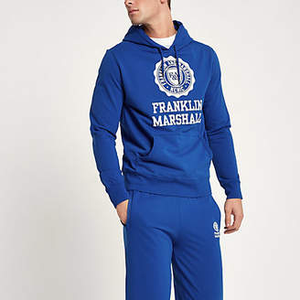River Island Franklin and Marshall blue tracksuit outfit