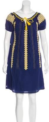 Roberta Roller Rabbit Short Sleeve Mini Dress