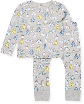 Stella McCartney Sand Castle Pajama Set
