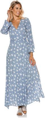 Swell Wrap Maxi Dress $79.45 thestylecure.com