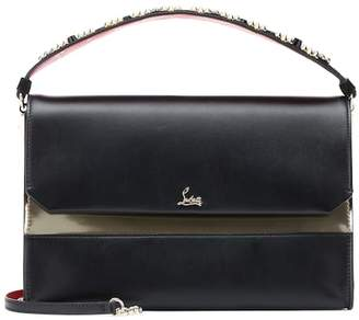 Christian Louboutin Loubiblues leather shoulder bag