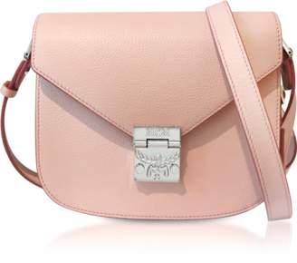 MCM Patricia Park Avenue Pink Blush Leather Small Shoulder Bag