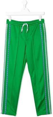 MSGM Kids TEEN side panelled track pants