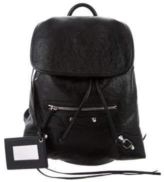 Balenciaga 2016 Baby Daim Classic Traveller XS Backpack