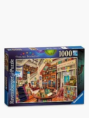 Ravensburger Fantasy Bookshop Jigsaw Puzzle, 1000 pieces