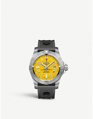 Breitling Avenger II Seawolf stainless steel watch