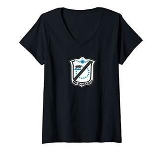 Womens VMA-214 V-Neck T-Shirt