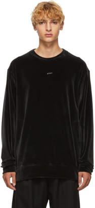 Song For The Mute Black Velvet Plant Sweatshirt