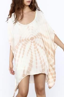 Elan International Tan Tunic Dress