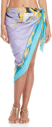 Emilio Pucci Printed Wrap Cover-Up Skirt