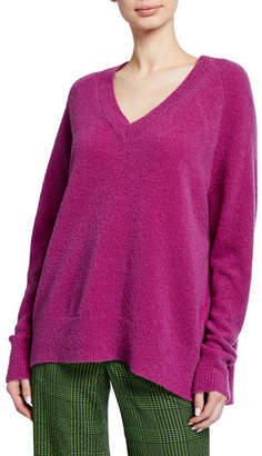 Christian Wijnants Karwat V-Neck Wool Sweater