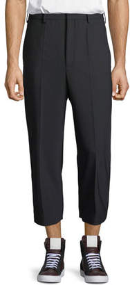 Neil Barrett Dropped-Rise Tapered-Leg Pants