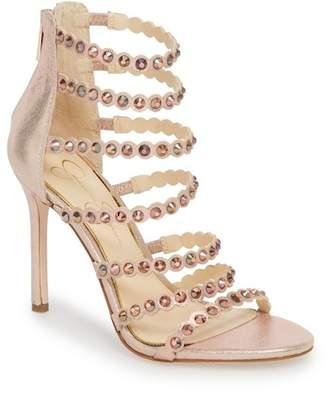 Jessica Simpson Jezalynn Embellished Sandal (Women)