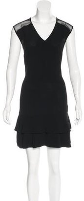 Sandro Sleeveless Flounce-Hem Dress w/ Tags $130 thestylecure.com