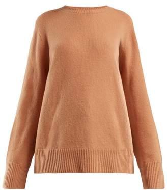 The Row Sibel Wool Blend Sweater - Womens - Orange