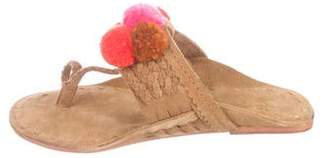 Figue Lolita Suede Sandals w/ Tags