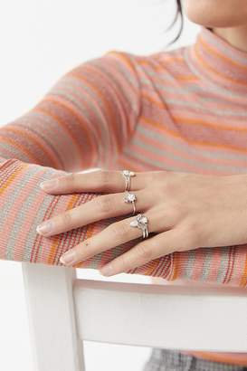 Urban Outfitters Callista Opal Ring Set