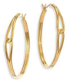 Kate SpadeKate Spade New York Get Connected Large Hoop Earrings- 1.5in.