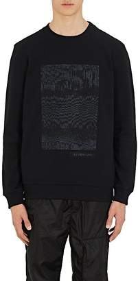 Givenchy Men's Sequin-Embellished Cotton Sweatshirt