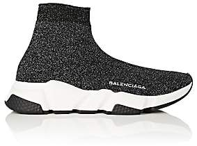 Balenciaga Women's Speed Knit Sneakers - Black