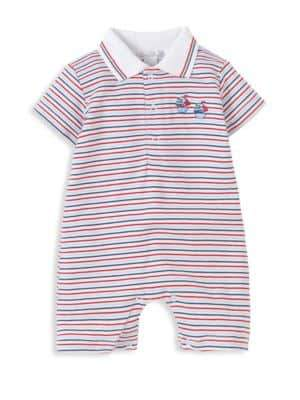 Kissy Kissy Baby's Nautical Striped Shortall