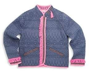 Billieblush Toddler's, Little Girl's& Girl's Quilted Reversible Jacket