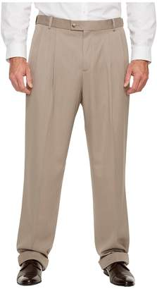 Perry Ellis Portfolio Big and Tall Double Pleat Melange Portfolio Dress Pants Men's Dress Pants
