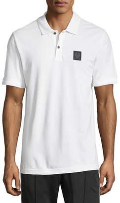 Belstaff Piqué-Knit Polo Shirt