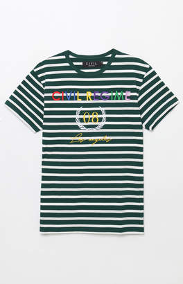 Civil United Colors Stripe T-Shirt