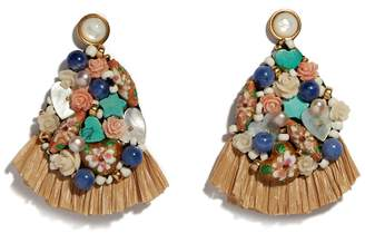 Lizzie Fortunato Daydream Raffia Earrings