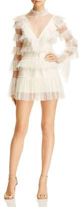 Alice McCall Zen Ruffled Mini Dress