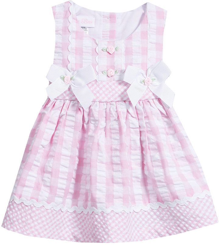 Bonnie Baby Baby Girls' Seersucker Dress