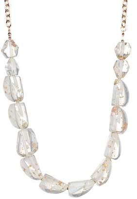 Natasha Accessories Lucite Necklace