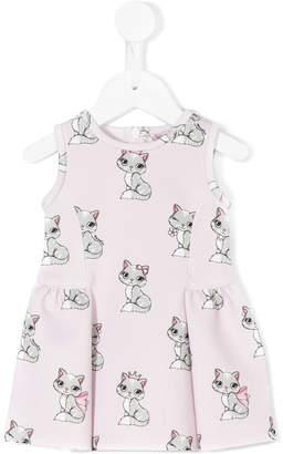 MonnaLisa cat printed dress
