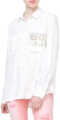 Desigual Exotic White Shirt